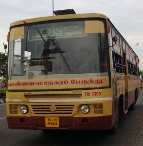 MTC-Bus-plying-in-Tambaram-to-Thiruvanmiyur-route-