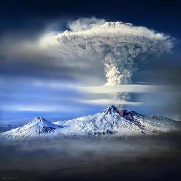 Mount Ararat eruption